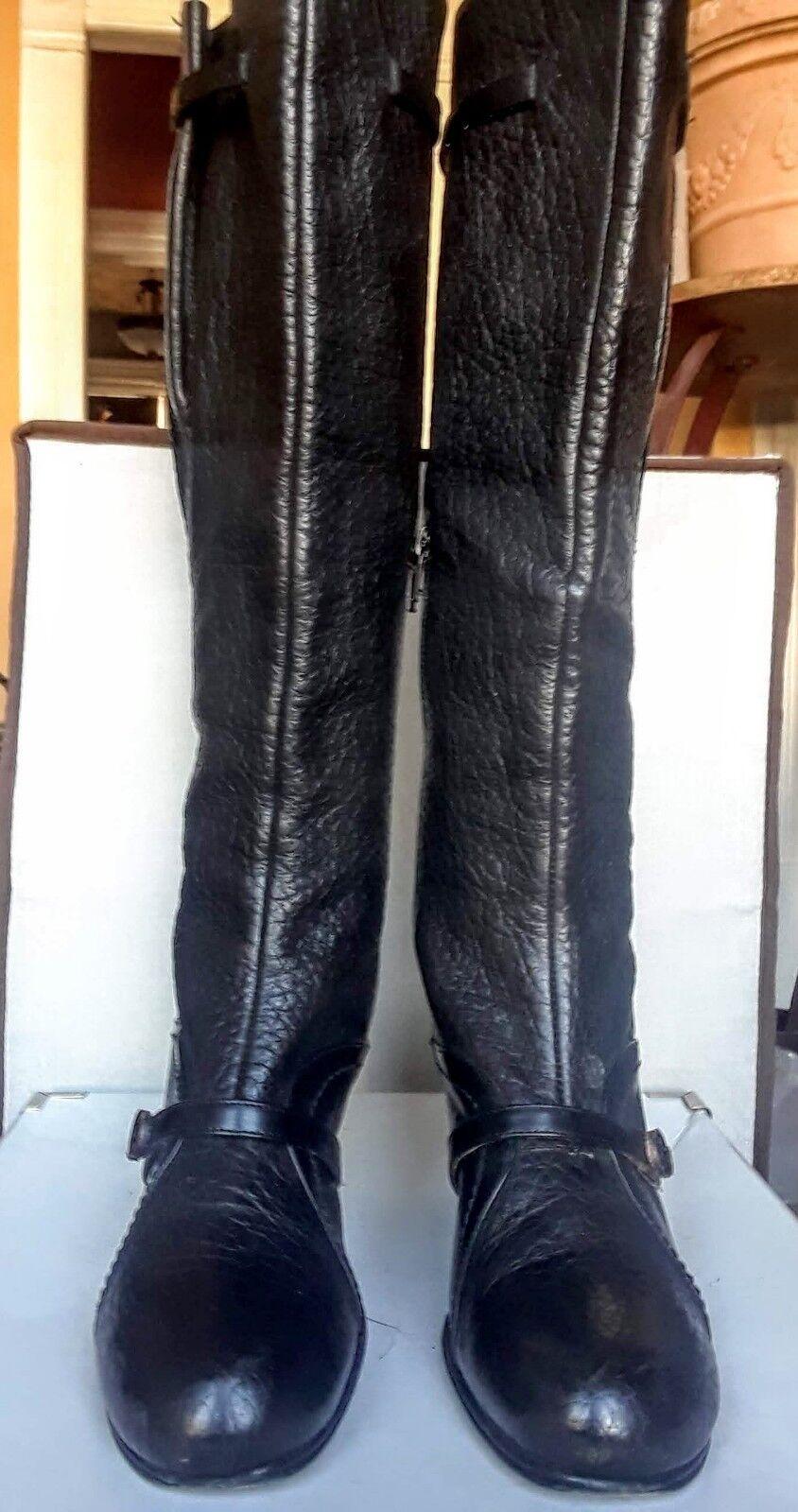 marchi di moda Limited Limited Limited Edition Paolo Lantorno nero leather stivali Dimensione 38  fornire un prodotto di qualità