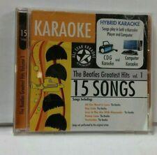 Karaoke: The Beatles Greatest Hits, Vol. 1 [2006] by Karaoke (CD, 2008, All Star Karaoke)