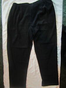 df7fcfdf4992b NWT SEARS MOSAIC WOMAN SIZE 2X BEAUTIFUL BLACK PANTS MSRP  52 L  K ...