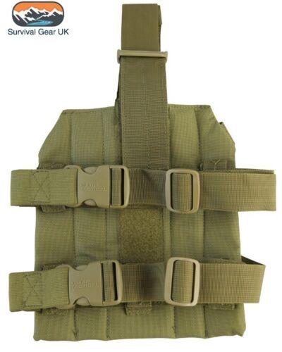 Coyote M4 molle Drop Leg Platform style militaire LEG PANEL AIRSOFT cadets de l/'armée