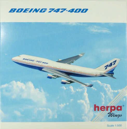 Boeing 747-400 Boeing House Colors Herpa 500814 1:500