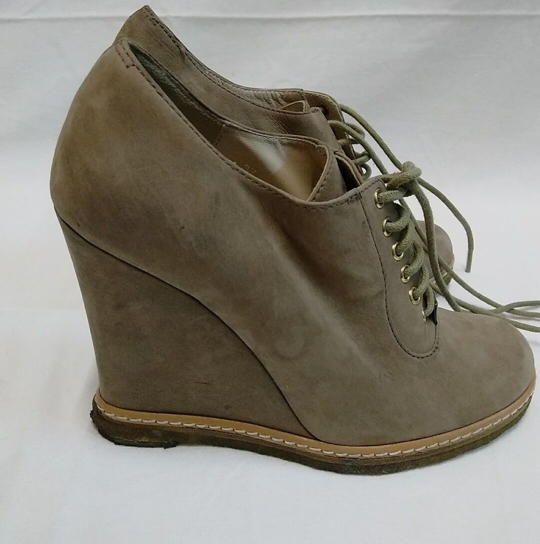 scarpe donna luciano barachini vera pelle scamosciate misura 37