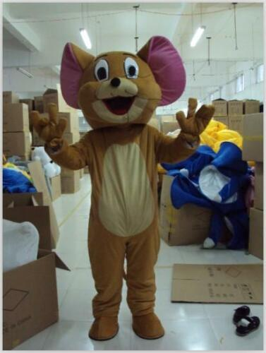 Tom and Jerry Mouse Mascot Head Costumes Parade Dress Party Adult Outfit Cosplay