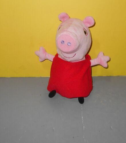 """PEPPA PIG Hug N/' Oink Animated Stuffed Plush Talks Oinks Laughs 12/"""" Nickelodeon"""