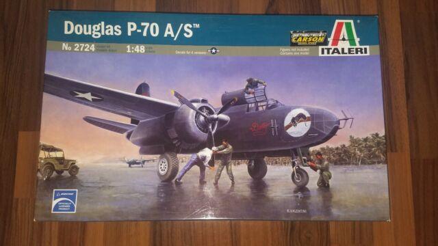 Douglas P-70 A/S (Douglas A-20) von Italeri im Maßstab 1:48 (Art.-Nr. 2724)