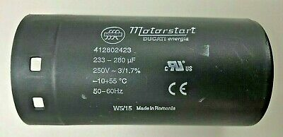 145uF-174uF Start Capacitor BMI 250VAC motor pump dryer fan induction145-174uF