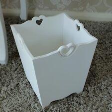 Groß weiß holz altpapier abfalleimer schick küche schlafzimmer badezimmer