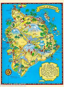 A Big Map Of The United States.Hawaii Hawaiian Big Isle Map United States America Travel