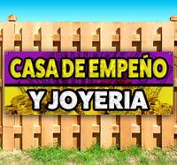 Casa De Empeño Y Joyeria Advertising Vinyl Banner Flag Sign Many Sizes Available