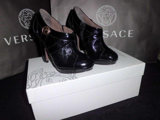 Versace  Collection zapatos Talla mujer zapatos  botaie  Medusa  Talla zapatos 35,5 a01878