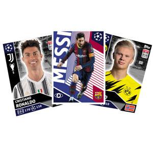 Topps Champions League 2020 2021 Einzelsticker LAZ-POR zum aussuchen to choose