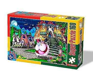 Super Puzzle 160 DT60495-PV-05 * D-Toys Fairytales 5