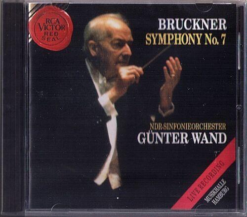 1 von 1 - Günter WAND: BRUCKNER Symphony No.7 NDR 1992 Hamburg Live CD Gunter Sinfonie