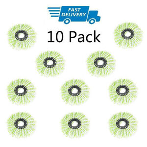 10-Pack-Replacement-Microfiber-Mop-Head-Refill-For-Spin-Mop-360