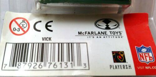 2004 McFarlane Michael Vick Figure Atlanta Falcons Eagles Hokies Toys Neuf sous emballage