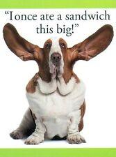 """""""ATE A SANDWICH"""" Basset Hound Dog Puppy Breed Magnet Kitchen Fridge Office NEW"""
