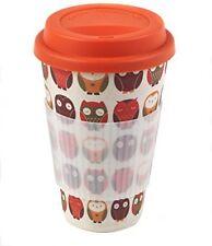 Tea and Coffee Travel Cup Cambridge CM04530 Bamboo Owl Eco Travel Mug