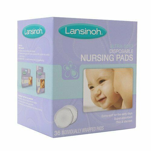 Lansinoh Ultra Soft Disposable Nursing Pads 36 ea Pack of 4
