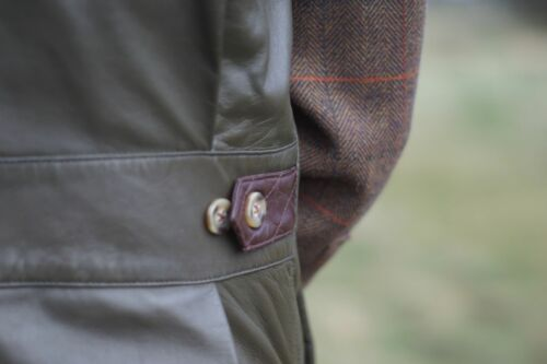 en Cuir Véritable Mouton Nappa Gilet Milano Countryman tir chasse
