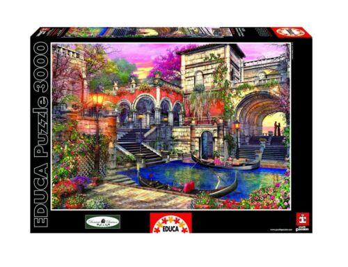 "NEW EDUCA Jigsaw Puzzle 3000 Tiles Pieces /""Venice Courtship/"" by Dominic Davison"