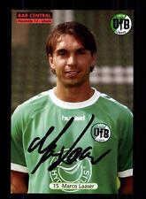 Marco Laaser Autogrammkarte VFB Lübeck 2005-06 Original Signiert+A 152834