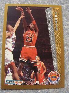 Image Is Loading L 409 1992 93 Fleer Basketball 238 Michael