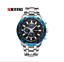 Curren-8023-6-Silver-Blue-Black-Stainless-Steel-Watch thumbnail 1