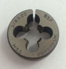 "Presto UK 3/8"" x 20tpi HSS BSF Die / Direct from RDGTools"