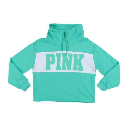 Felpa alto Pullover Nwt Graphic campana Vs Top Secret Victoria's New rosa collo a con WqYFxtwOH