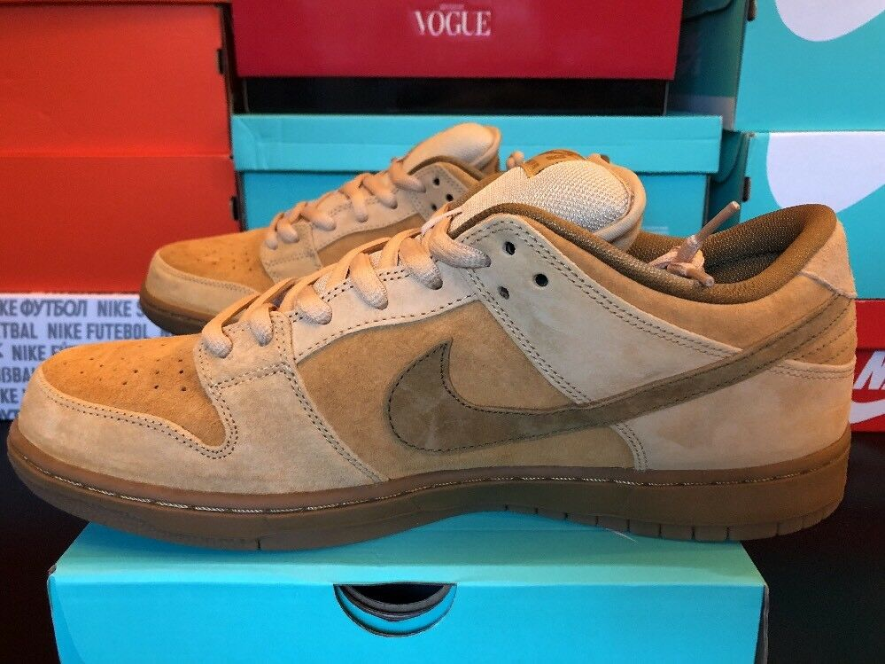 Nike SB Dunk Low TRD QS Reese Forbes Wheat Mid High 883232 700 New Size 12