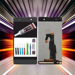 Display-fuer-Sony-Xperia-XA-F3111-F3112-LCD-Bildschirm-TouchScreen-Grau-TOOL