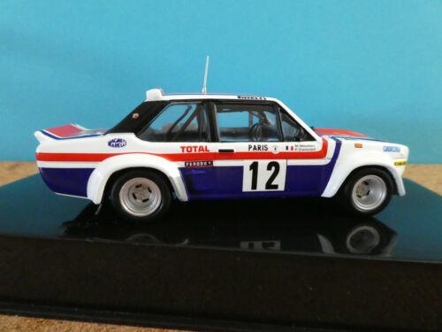 Fiat 131 Abarth #12 Monte Carlo rallye blanco 1979 NUEVO IXO modelo 1:43