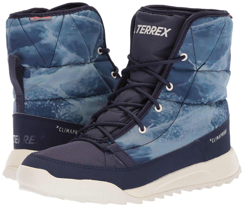 Adidas terrex choleah imbottito cp scarpe gesso comode donne nobili inchiostro gesso scarpe bianco blu a696ec