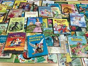 Little-Golden-Books-Lot-of-20-Mix-with-Free-Shipping-Great-Stories