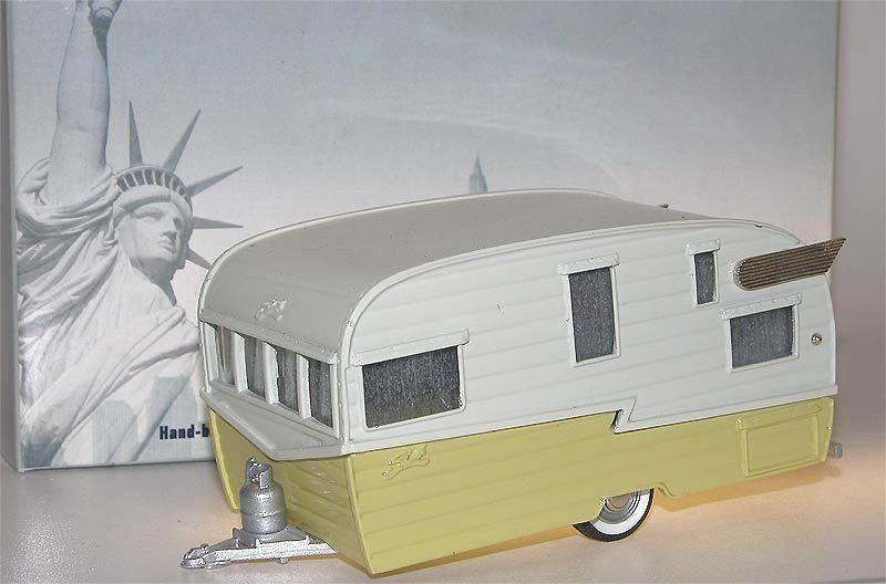 Brooklin Models BRK 72, 1958 Shasta Airflyte Travel Trailer