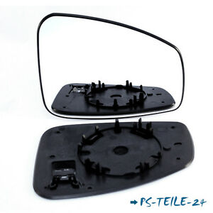 Spiegelglas-fur-RENAULT-MEGANE-III-2009-2013-rechts-spharisch-beifahrerseite