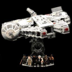 Acryl-Display-Stand-Acrylglas-Standfuss-fuer-LEGO-75105-Millennium-Falcon