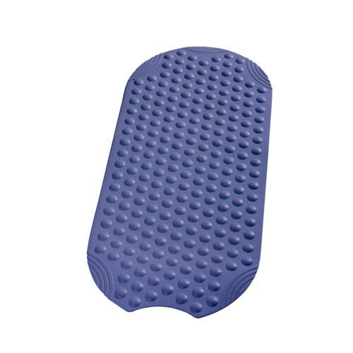 Blaue Wanneneinlage Anti Rutsch Matte Wannenmatte 38x89cm Modell TECHNO