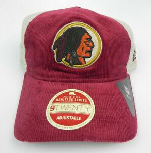 WASHINGTON-REDSKINS-NEW-ERA-NFL-HERITAGE-SNAPBACK-9TWENTY-2TONE-HAT-CAP-NWT-RARE