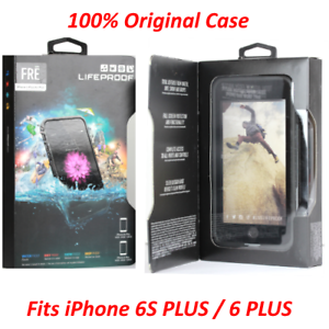 buy online e7c90 f748e Details about Authentic LifeProof Waterproof Fre Case For iPhone 6 Plus 6s  Plus BLACK