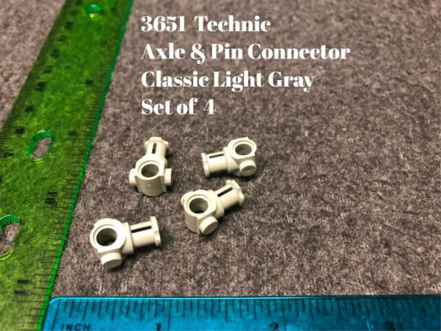 2Lego Technik Technic 10 x Pins Verbinder Hülse dunkelgrau #18654 NEUWARE