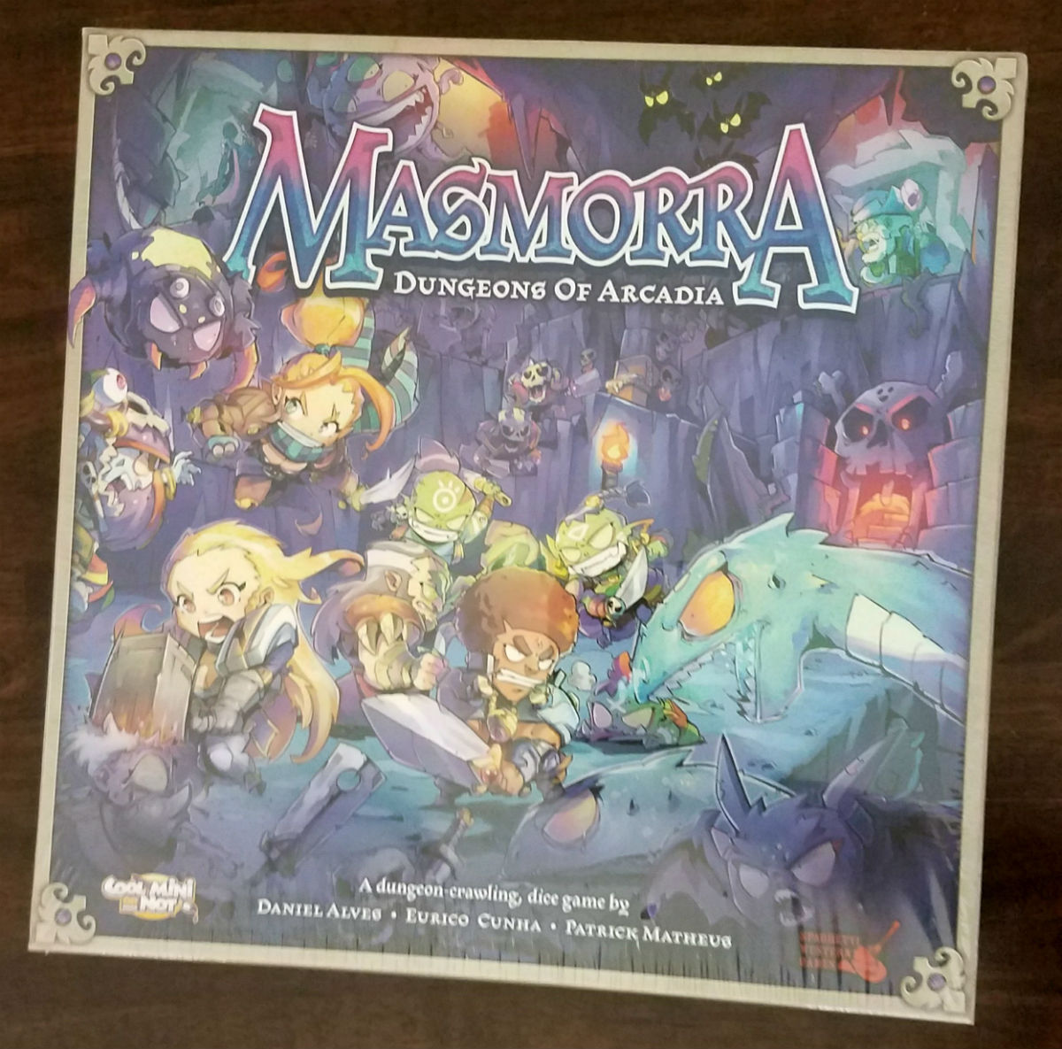 Masmorra dungeons von arcadia brettspiel kern - box - spiel cmon
