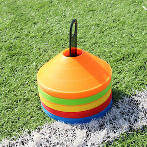 50pcs-Football-Training-Cones-MULTI-COLUR-Football-Sports-Marker-Disc-UK