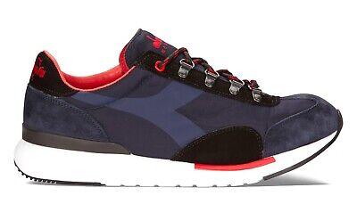 DIADORA HERITAGE EQUIPE EVO scarpe uomo sportive sneakers pelle camoscio tessuto | eBay