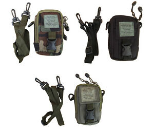 Army-Military-Combat-Shoulder-Travel-Zip-Bag-Camera-Surplus-Phone-Belt-Pouch