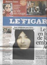 LE FIGARO N°20563 11/09/010  AMERIQUE&ISLAM/ MOINES TIHIBERINE/ RUSSIE/ UKRAINE