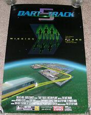 "DART Light Rail 15th Street East PLANO ""Movie"" Poster~Dallas Area Rapid Transit"