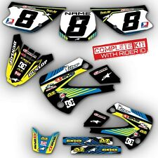 ALL YEARS SUZUKI  RM 65 GRAPHICS KIT  RM65 DIRT BIKE DECALS STICKERS MOTOCROS