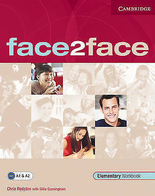 face2face Elementary Workbook, Redston, Chris & Cunningham, Gillie, Used; Good B