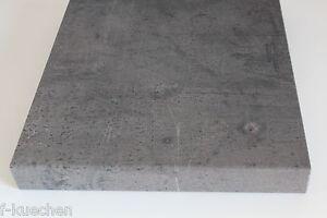 Beton dunkel Küchenarbeitsplatte, Arbeitsplatte 5,2 m SOFORT ...